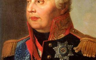 Михаил Кутузов — интересные факты