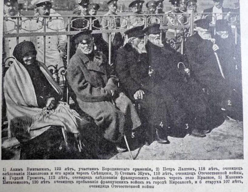 Ветераны Отечественной войны 1812 года