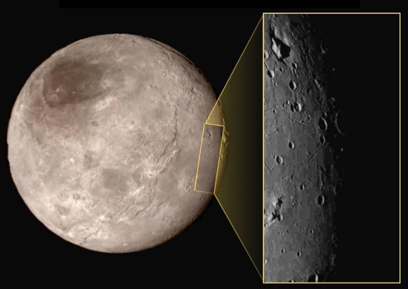 Снимки New Horizons