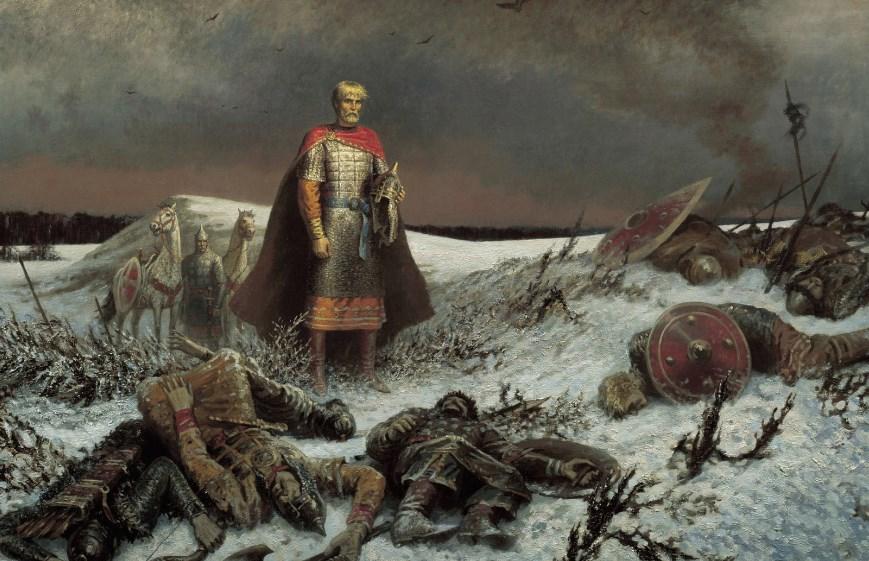 После битвы