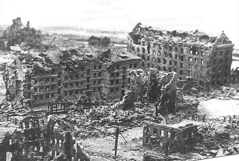 После бомбардировки